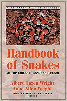 Handbook of Snakes of the United States and Canada, Volume 2 (Comstock Classic Handbooks)