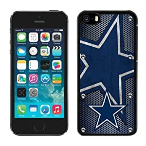 TOPPEST Dallas Cowboys 04 Cheap Custom Iphone 5c Case Team Flag Sports Phone Protector