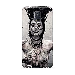 ChristopherWalsh Samsung Galaxy S5 Shock Absorption Cell-phone Hard Cover Custom HD Moonspell Band Morbid God Pictures [hTl3077tBzX]