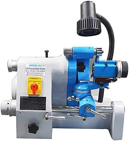 Universal Cutter Grinder Sharpener End Mill Sharpener U3 110V w// Accessories