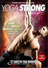 Get stronger than you ever thought possible with yoga. This complete power yoga conditioning program isn't what you'll find in a typical yoga studio. Yoga Strong was engineered to help you build lean muscle, burn fat, and get in the best shap...