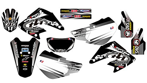 Tld Decal (170815 TLD HONDA XR 250 2003-2005 DECALS STICKERS GRAPHICS KIT)
