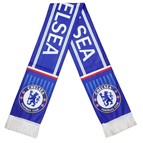 UHBHEA FC Chelsea Team Scarf Soccer Club Fan Double Sided knitted Scarf - Chelsea Scarf