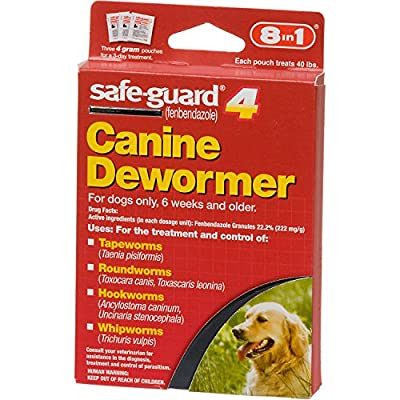 8in1 Safe Guard Canine Dewormer by Excel