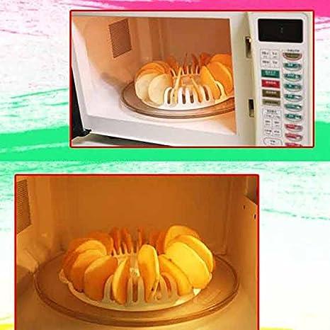 FAWEG Microondas Patatas fritas Fabricante de bricolaje Horno de ...