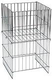 "KC Store Fixtures 54102 Wire Dump Basket, 17"" x"