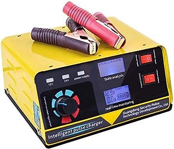 XIAOWANG Cargador de batería 240W 12V / 24V 20A 6-400AH Cargador de batería de automóvil Motocicleta baterías de Coche Fuente de alimentación Totalmente automática Accesorios para el Coche