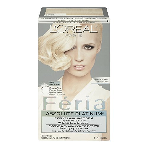 L'Oreal Feria Absolute Platinums Hair Color, Very Platinum by L'Oreal Paris Hair Color