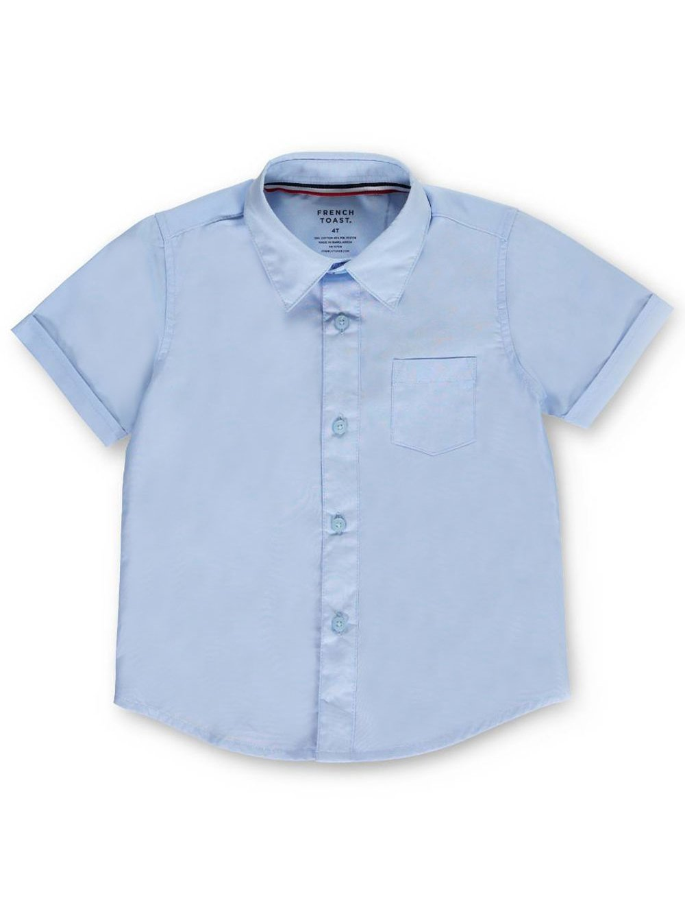 French Toast Little Boys' Toddler S/S Button-Down Shirt
