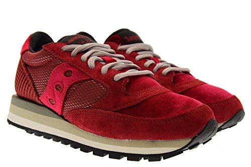 Rosso Da 60364 Jazz Sneakers 39 Triple Velluto Smu o 01 Edizione Donna limitata aIawxT