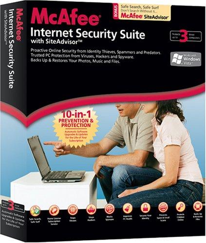 McAfee Internet Security Suite 2008 - 3 User [OLD VERSION]