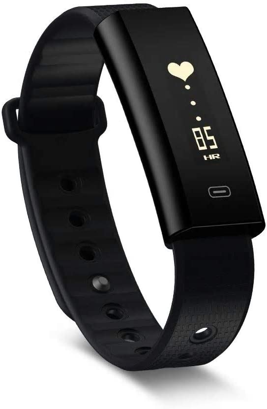 Fitness Tracker, Zeblaze Arch Plus Smart Wrist Bluetooth Watch with Pedometer Heart Rate Monitor GPS Tracker Waterproof IP67 Activity Tracker for ...