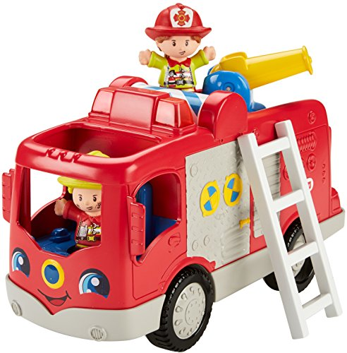 Fisher-Price Little People, Helping Others Fire Truck (Sweets People)