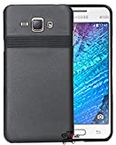 Jkobi Exclusive Rubberised Matte Finished Back Case Cover For Samsung Galaxy J1 4G -Black