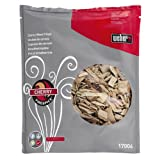 Weber 17006 Cherry Wood Chips, 210 Cubic Inches, 3-Pound
