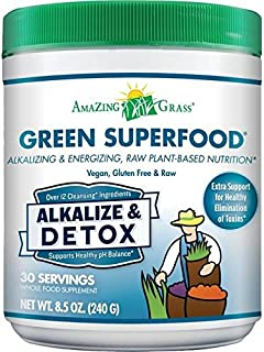 product image for Amazing Grass Alkalize Detox Green Superfood - 240g (0.53lbs)