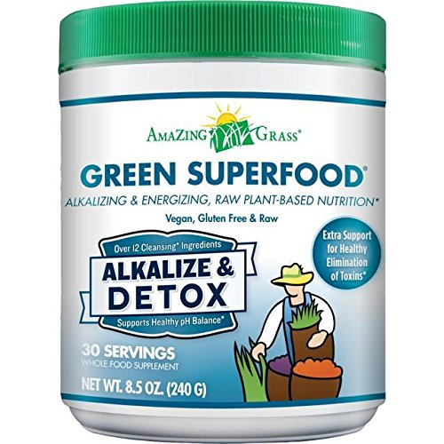 Amazing Grass Alkalize Detox Green Superfood - 240g (0.53lbs) by Amazing Grass