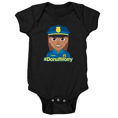 c758d6b6248 Amazon.com: CafePress Hashtag Donutworry Police Baby Bodysuit: Clothing