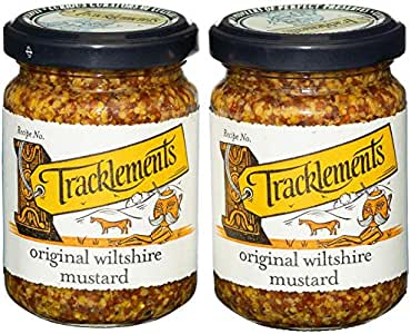 Tracklements Original Wiltshire Mustard - Pack of 2 x 140g ...