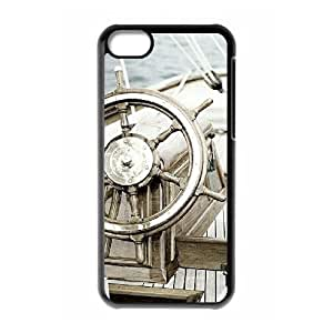 SFBFDGR Sailboat Rudders Brand New Cover Case with Hard Shell Protection for iphone 5c Case lxa#402351