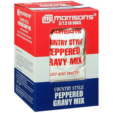 Style Gravy Mix (Morrison's Country Style Gravy Mix - 3/1.5 lb. A1)