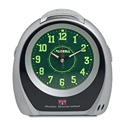Lorell Atomic Set Alarm Desk Clock - Atomic