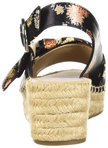 Pirouette Sarto Sandal Wedge Espadrille Franco Multi Women's wvEqwF