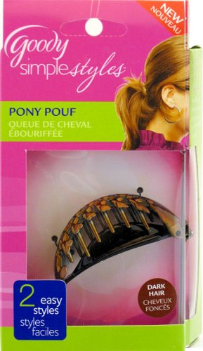 Goody Simple Styles Pony Pouf Brunnette Color By Goody Amazonde Mesmerizing Pony Pouf