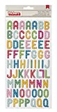Pebbles Birthday Wishes Collection Thickers Chipboard Celebrate Multicolor (8 Pack)