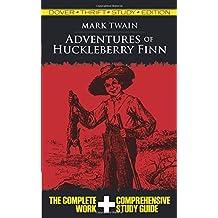 Adventures of Huckleberry Finn (Dover Thrift Study Edition)
