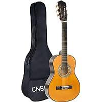 Guitarra Clasica Guitarra Acústica 1/2 Tamaño 30 Pulgada de Cuerdas de Nylon para Niños, Principiantes, Estudiantes