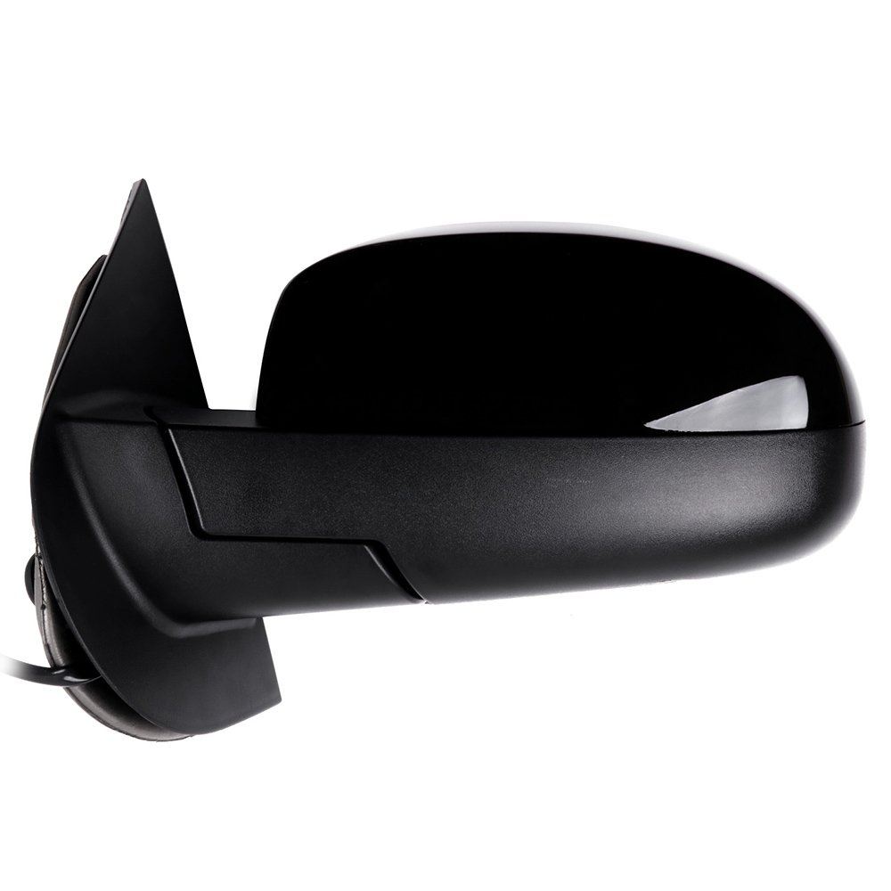 ROADFAR Towing Mirrors Fit Compatible with 2007-2013 Chevrolet Silverado GMC Sierra 07 for New Body Left and Right Side Manual Folding Power Adjustment Heated GM1320325 GM1321325