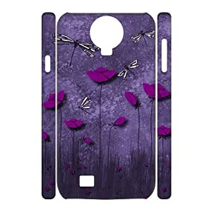 Beautiful Dragonfly Personalized 3D Cover Case for SamSung Galaxy S4 I9500,customized phone case ygtg-310189