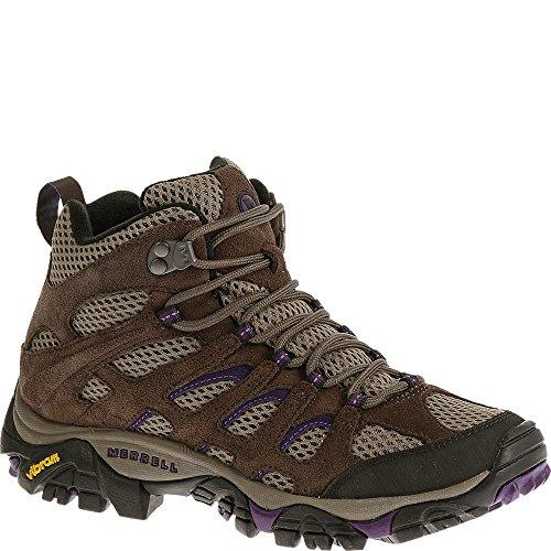 Merrell Women's J65586, Bracken/Purple, 6.5 M - Shoes Bracken Womens Brown