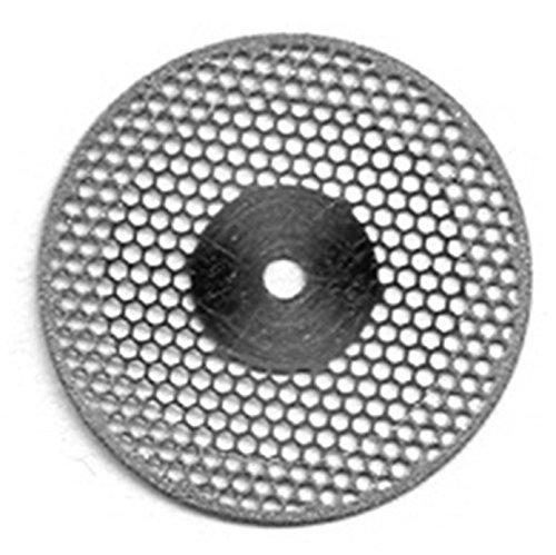 B00MFMOVBK VAL-Lab D934-220(400.514.220)/UM Diamond Disks, Premium Quality, Super Flex, Double Sided/UnMounted, Size 22 mm, Thickness 0.20 mm, 50 μm, Medium Grit (Pack of 2) 51E2-wlhj8L