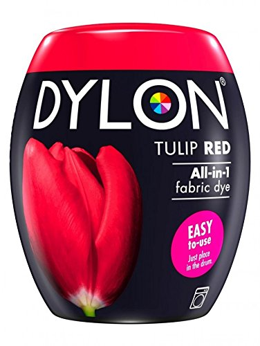 Tulip Pod (Dylon Machine Fabric Dye Pod Tulip Red)