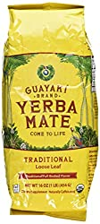 Guayaki Traditional Organic Yerba Mate, Loose Tea, 16 Ounce