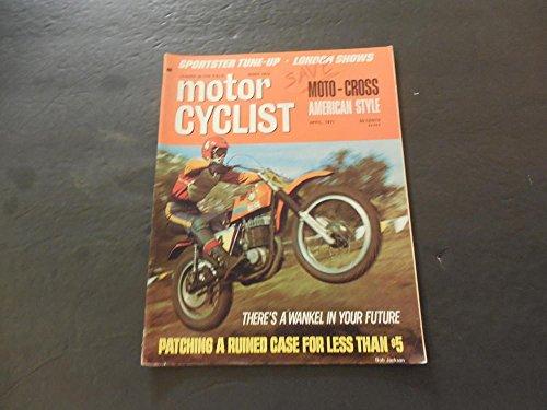 Sportster Cross - Motor Cyclist Apr 1971 Sportster Tune-Up; Moto Cross American Style
