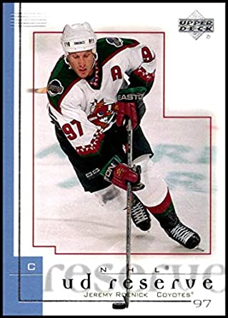 2000-01 UD Reserve  65 Jeremy Roenick NM-MT Phoenix Coyotes Official NHL 6626731c4