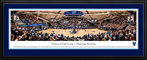- Villanova Basketball at Finneran Pavilion - 44x18-inch Double Mat, Deluxe Framed Picture by Blakeway Panoramas