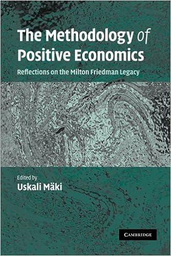 essay in positive economics milton friedman