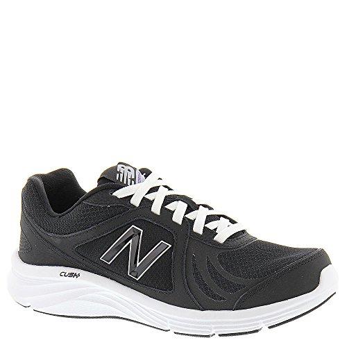 New Balance Women's WW496V3 Walking Shoe-W CUSH + Walking Shoe, Black, 10.5 2A US