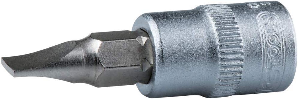 KS Tools 911.1418 4 x 6,3 mm Llave de vaso con punta plana de destornillador