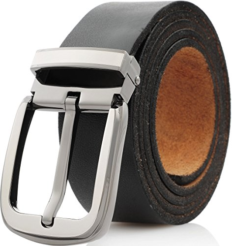 Marino Mens Belt, One Piece Leather Strap with Removable Buckle, Enclosed in an Elegant Gift Box