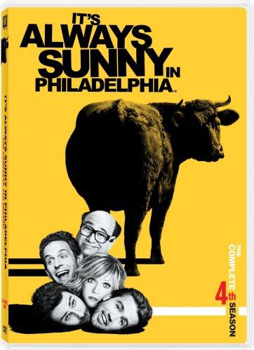 DVD : It's Always Sunny In Philadelphia: Seasons 4 (, Dolby, Widescreen, 3 Disc)