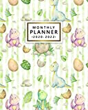 2020-2022 Monthly Planner: Adorable Baby Dinosaur Three Year (36 Months) Calendar & Agenda with Monthly Spread Views - 3 Year Organizer with Inspirational Quotes, To-Do s, Vision Boards & Notes