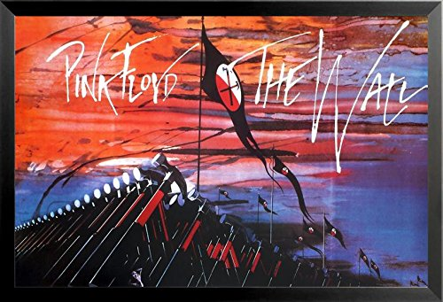 FRAMED Pink Floyd Marching Hammers The Wall 1979 36x24 Music Art Print (Marching Hammers)