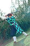 ROLECOS Tanjiro Kamado Kimono Cosplay Costume