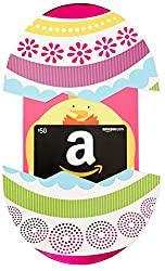 Amazon.com Gift Card In A Easter Egg Reveal (Classic Black Card Design)