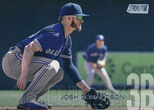 2018 Topps Stadium Club #219 Josh Donaldson Toronto Blue Jays Baseball Card - GOTBASEBALLCARDS